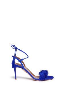 Aquazzura'Wild Thing' fringe suede sandals