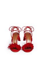 'Wild Thing' fringe suede sandals