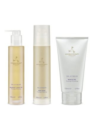 Main View - Click To Enlarge - Aromatherapy Associates - De-stress Body and Mind Set