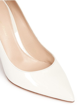 Detail View - Click To Enlarge - Gianvito Rossi - 'Gianvito 85' patent leather pumps
