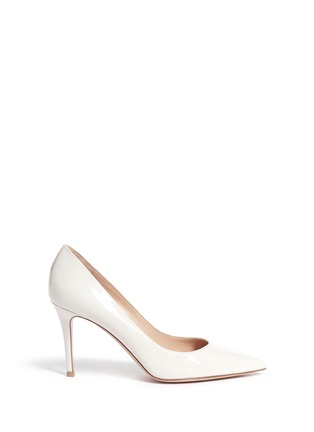 Main View - Click To Enlarge - Gianvito Rossi - 'Gianvito 85' patent leather pumps