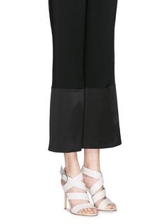 GIANVITO ROSSICross strap nappa leather sandals