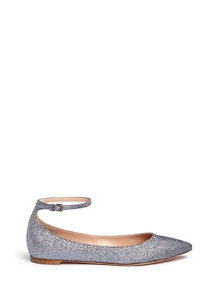 Main View - Click To Enlarge - Gianvito Rossi - 'Gia' glitter skimmer flats
