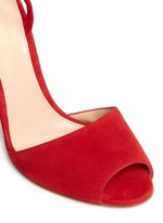 'Josie' ankle strap suede sandals