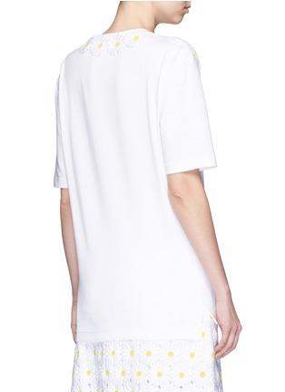 背面 - 点击放大 - DOLCE & GABBANA - 花卉拼贴纯棉T恤