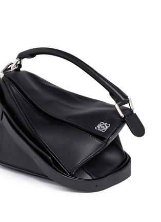 Detail View - Click To Enlarge - Loewe - 'Puzzle' small calf leather bag