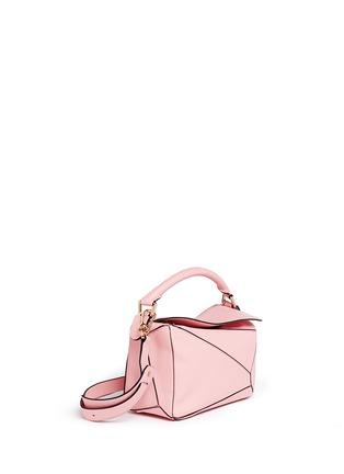 Front View - Click To Enlarge - Loewe - 'Puzzle' small calf leather bag