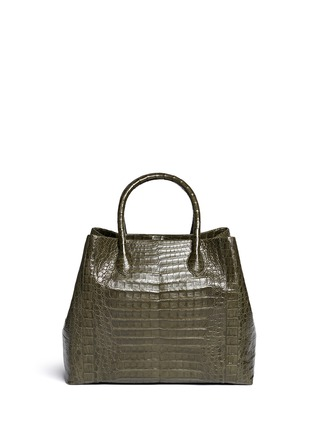 Back View - Click To Enlarge - Nancy Gonzalez - Crocodile leather large tote