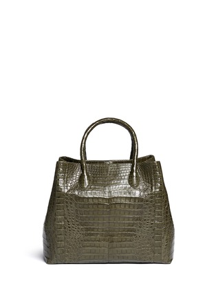 Main View - Click To Enlarge - Nancy Gonzalez - Crocodile leather large tote