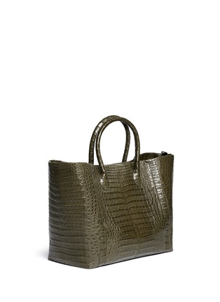 Figure View - Click To Enlarge - Nancy Gonzalez - Crocodile leather large tote