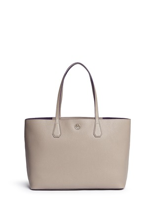 Main View - Click To Enlarge - Tory Burch - 'Perry' pebbled leather tote