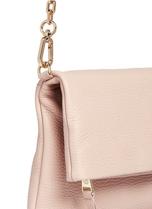 Detail View - Click To Enlarge - Tory Burch - Leather flap crossbody chain bag
