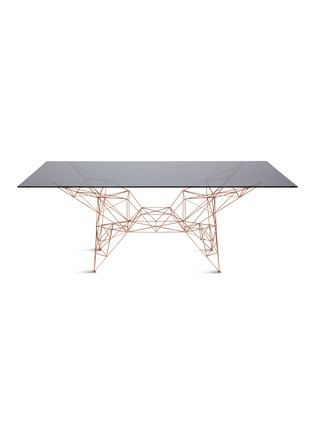 Main View - Click To Enlarge - Tom Dixon - Pylon dining table