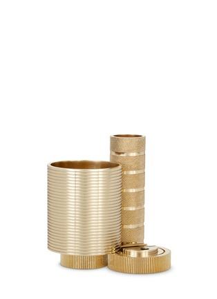 首图 –点击放大 - TOM DIXON - COG镀黄铜桌面收纳座