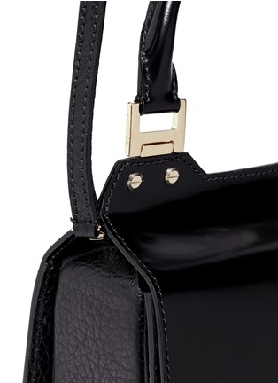 Jimmy Choo-'Amie S' small mixed leather boxy tote