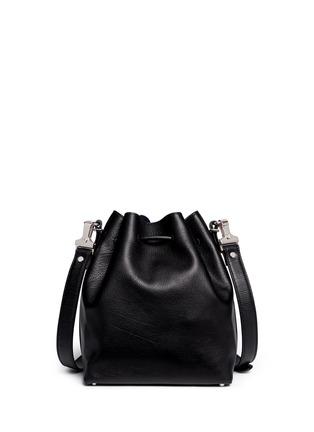 Back View - Click To Enlarge - Proenza Schouler - Medium leather bucket bag