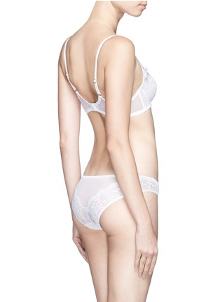 Back View - Click To Enlarge - L'Agent - 'Vanesa' nonpadded demi bra