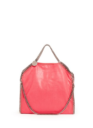 Main View - Click To Enlarge - Stella McCartney - 'Falabella' shaggy deer foldover chain tote