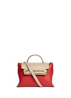 CHLOÉ'Clare' medium leather shoulder bag
