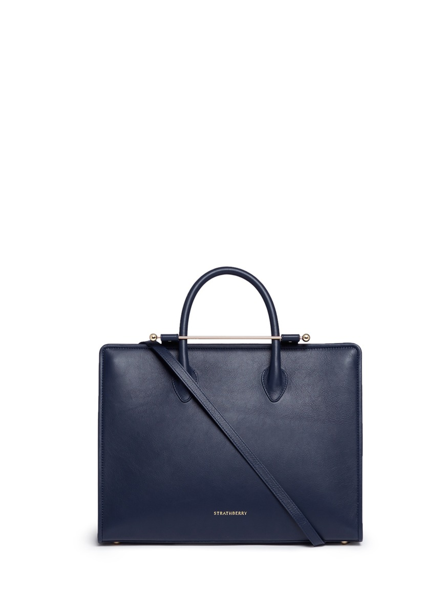 The Strathberry leather tote by Strathberry
