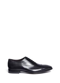 Rolando Sturlini'City' brogue leather Oxfords