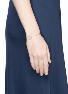 Anabela Chan 'Daisy' pavé diamond 14k gold bracelet