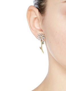 Anabela Chan 'Daisy' detachable diamond 18k gold earrings