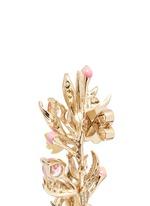 'Posie' detachable canary diamond 18k gold earrings
