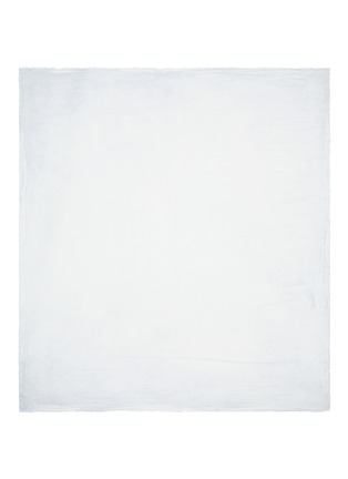 Main View - Click To Enlarge - Faliero Sarti - 'Spank' frayed edge modal-silk scarf