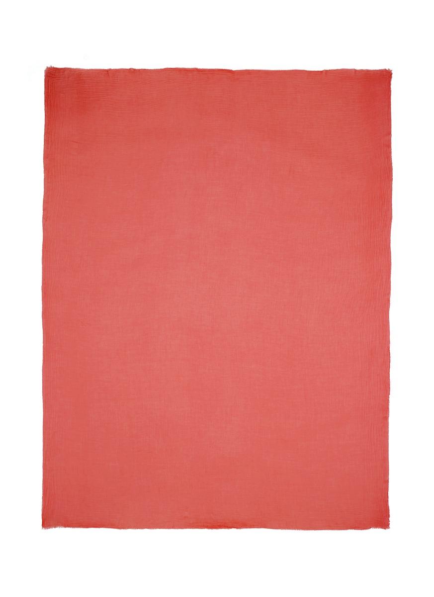 faliero sarti female alexander raw edge scarf