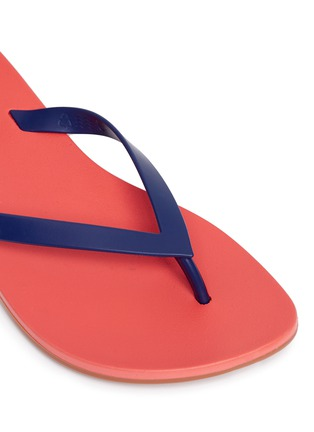 Detail View - Click To Enlarge - Melissa - x Ipanema colourblock flip flops