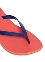 x Ipanema colourblock flip flops