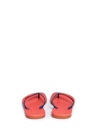 Melissa-x Ipanema colourblock flip flops