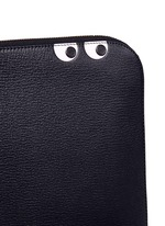 'Eyes' leather document case