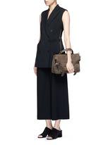 'PS1' medium leather satchel