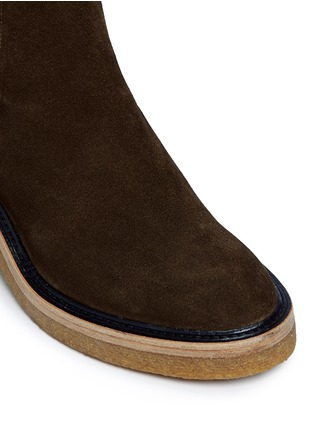 Dries Van Noten - Suede Chelsea boots