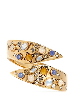 Main View - Click To Enlarge - Lulu Frost - 'Sequence' gemstone cabochon cuff