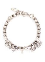 'Organized Chaos' Swarovski crystal box chain bracelet