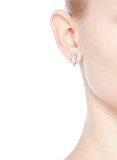 Joomi Lim 'Organized Chaos' asymmetric Swarovski crystal earrings