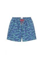 'Philippine Sea' wave print swim shorts