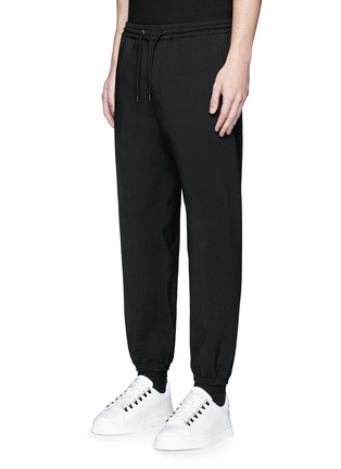 Front View - Click To Enlarge - Balenciaga - Wool gabardine jogging pants