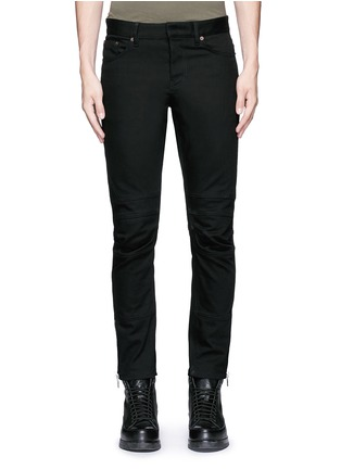 Detail View - Click To Enlarge - Balenciaga - Slim fit biker jeans
