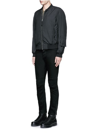 Figure View - Click To Enlarge - Balenciaga - Slim fit biker jeans