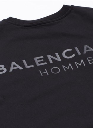 Detail View - Click To Enlarge - Balenciaga - Logo print T-shirt