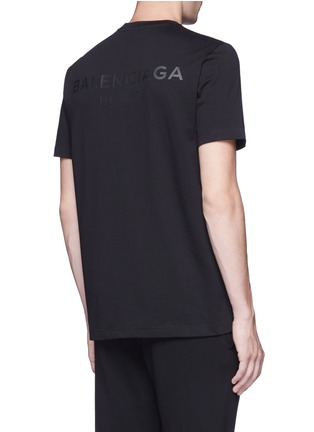 Back View - Click To Enlarge - Balenciaga - Logo print T-shirt