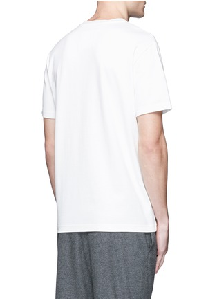 Back View - Click To Enlarge - Balenciaga - Eagle print cotton T-shirt