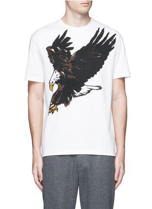 Main View - Click To Enlarge - Balenciaga - Eagle print cotton T-shirt