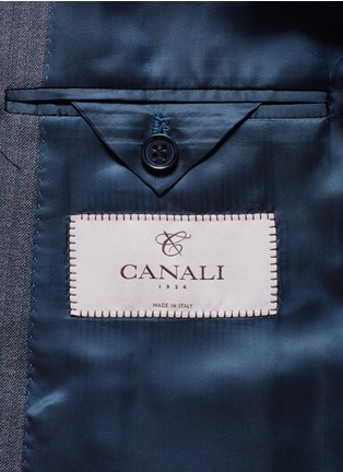 Canali - 'Contemporary' stripe wool suit