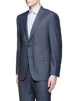 'Contemporary' stripe wool suit