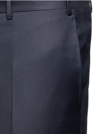 Detail View - Click To Enlarge - Canali - Water-resistant wool pants